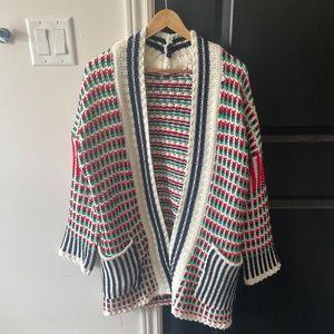 NEW Korean open front Cardigan oversized